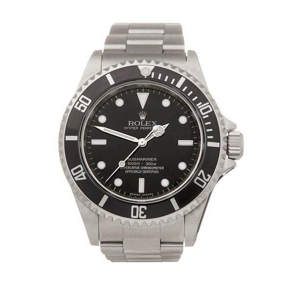 Rolex Submariner No Date Stainless Steel - 14060
