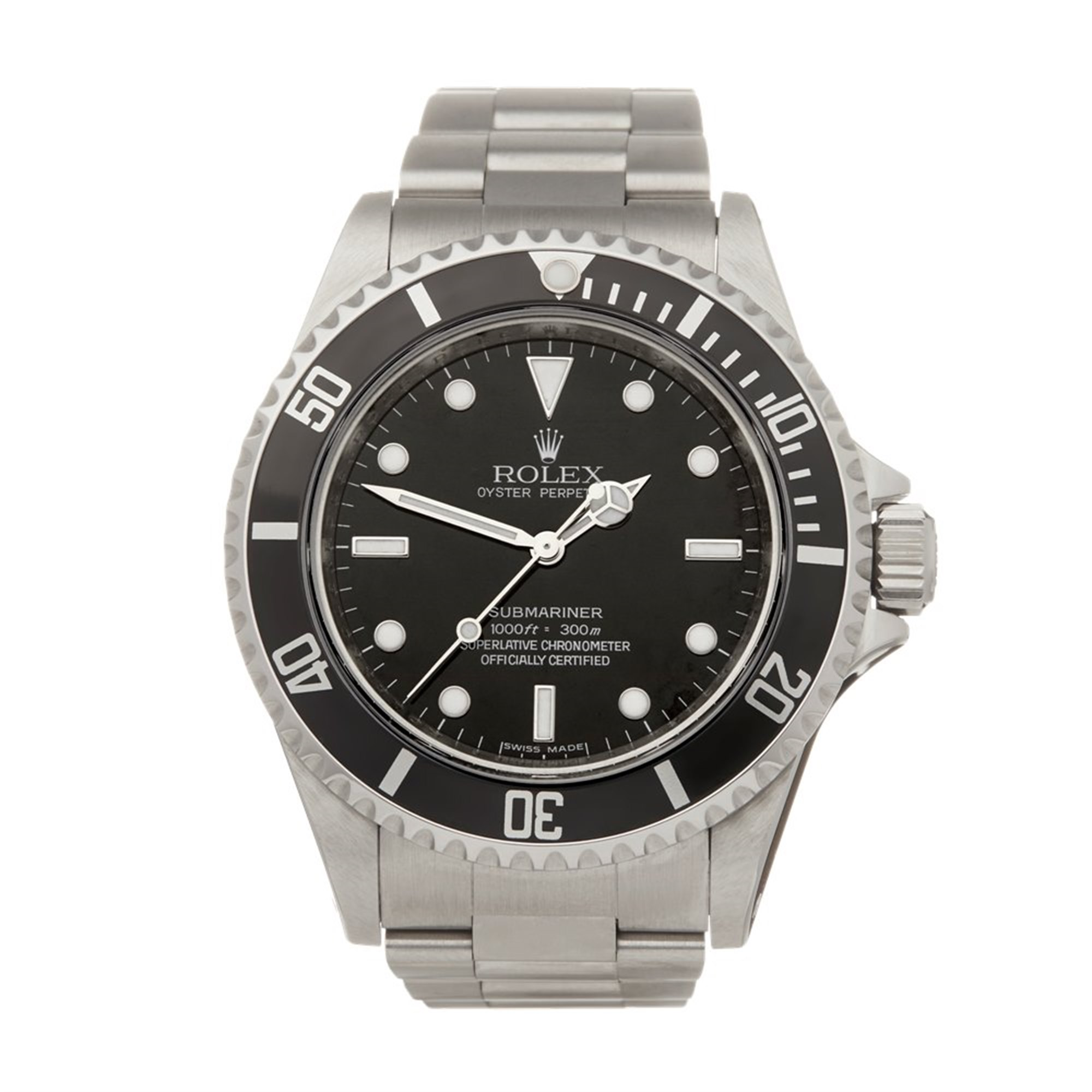 Rolex Submariner No Date Stainless Steel 14060