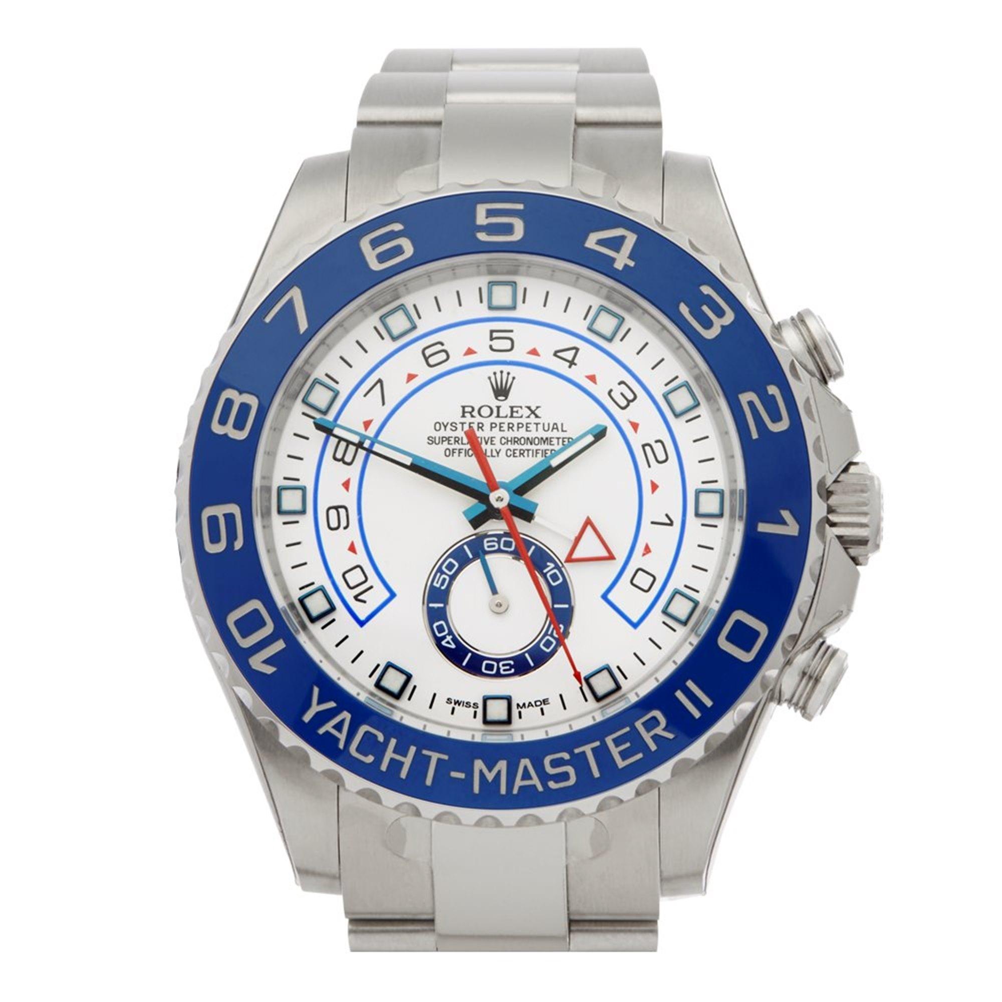 Rolex Yacht-Master II Regatta Chronograph Stainless Steel 116680