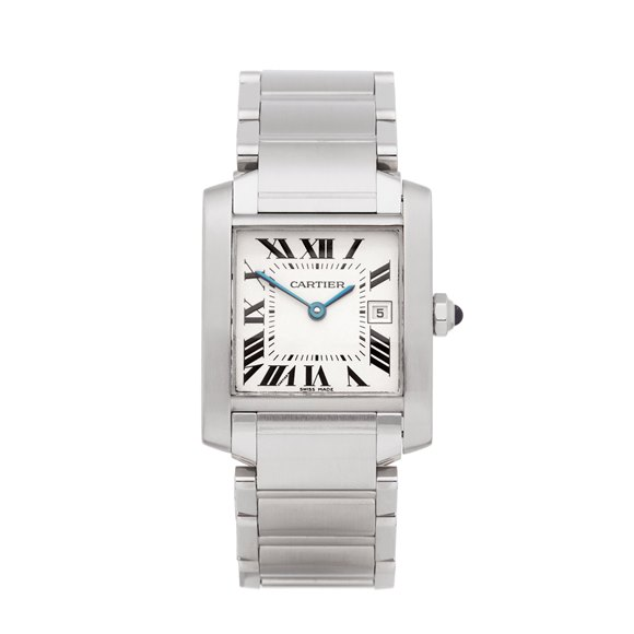 Cartier Tank Francaise Stainless Steel - W51011Q3 or 2465