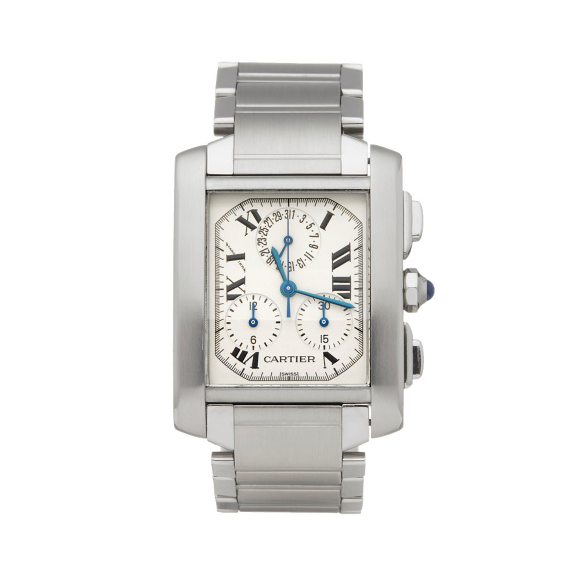 Cartier Tank Francaise Chronoreflex Stainless Steel W51001Q3 OR 2303