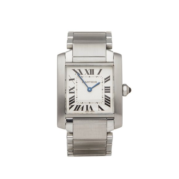 Cartier Tank Francaise Stainless Steel - W51003Q3 OR 2301