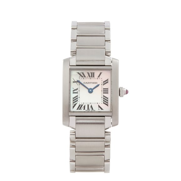 Cartier Tank Francaise Stainless Steel - W51008Q3 or 2384