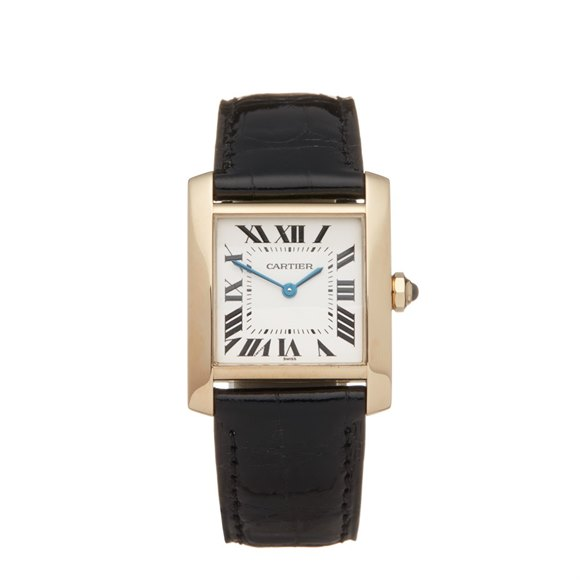 Cartier Tank Francaise 18K Yellow Gold - W5000356 or 1821