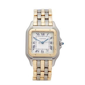 Cartier Panthère 3 Row Stainless Steel & Yellow Gold - 183949