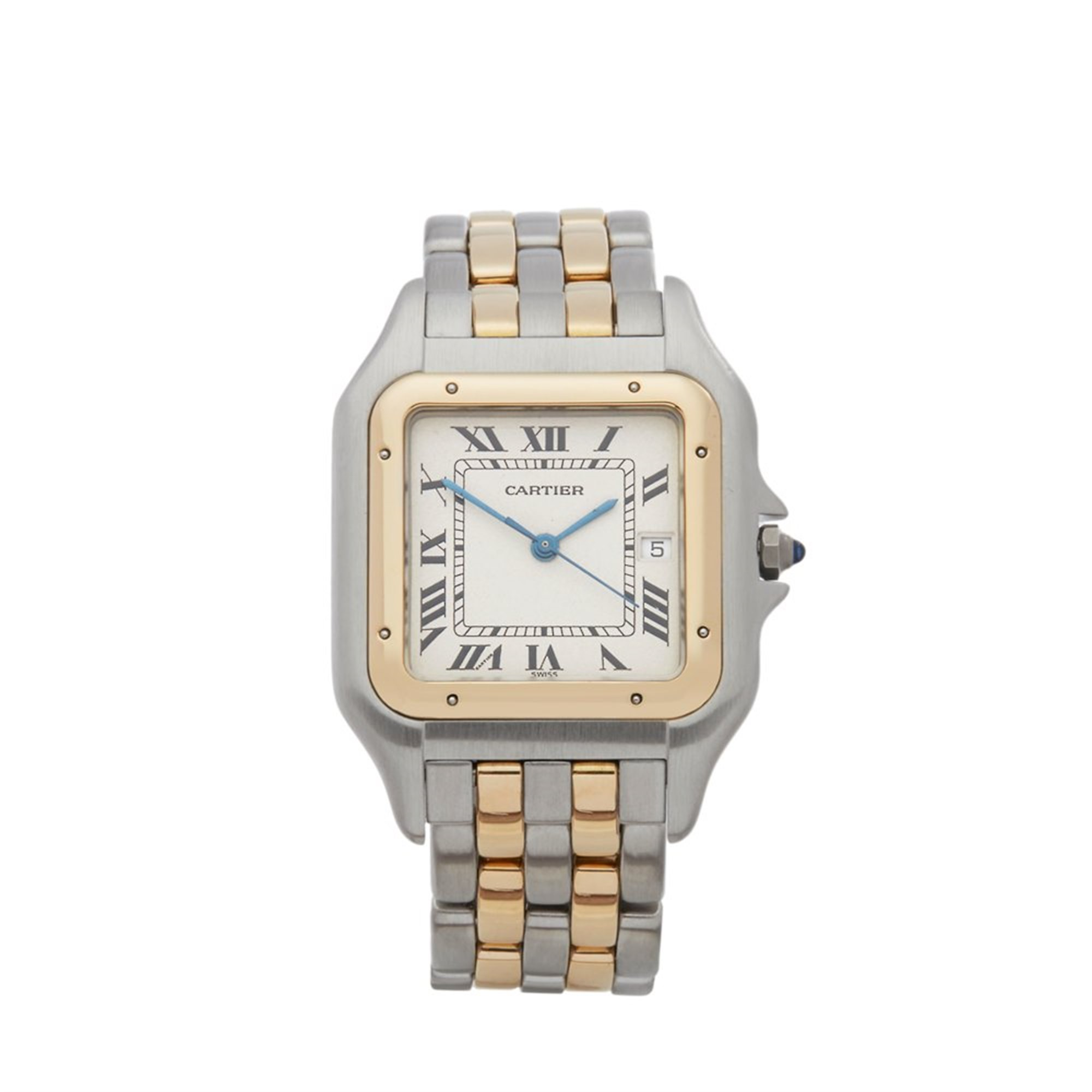 Cartier Panthère Jumbo 18K Stainless Steel & Yellow Gold 183957