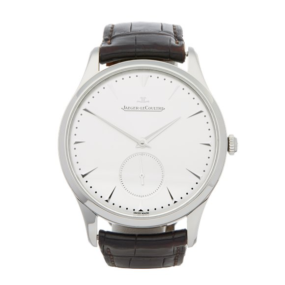 Jaeger-LeCoultre Master Ultra Thin Small Seconds Stainless Steel - Q1358420