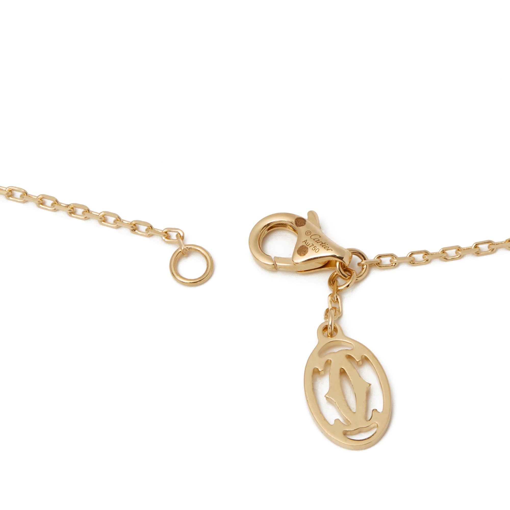 Cartier 18k Yellow Gold Delice De Goa