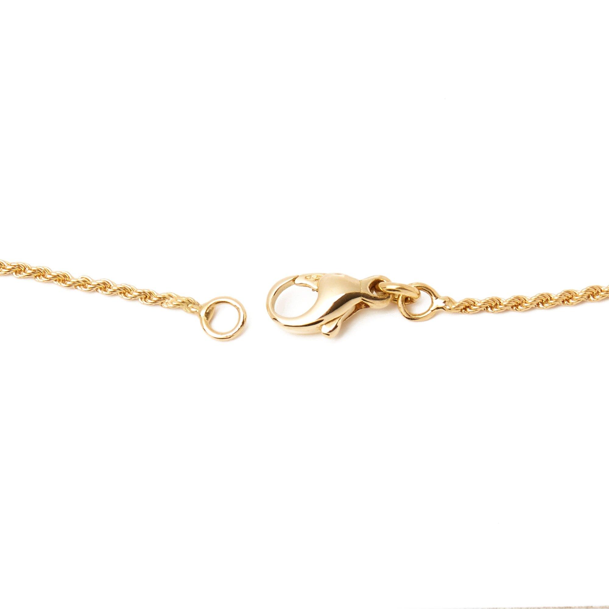 Citrine 18k Yellow Gold Citrine and Diamond Pendant