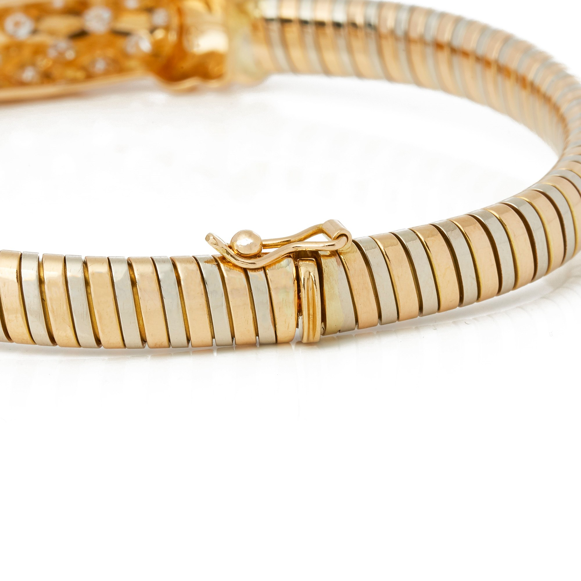 Cartier 18k Yellow Gold Turbogas Bracelet