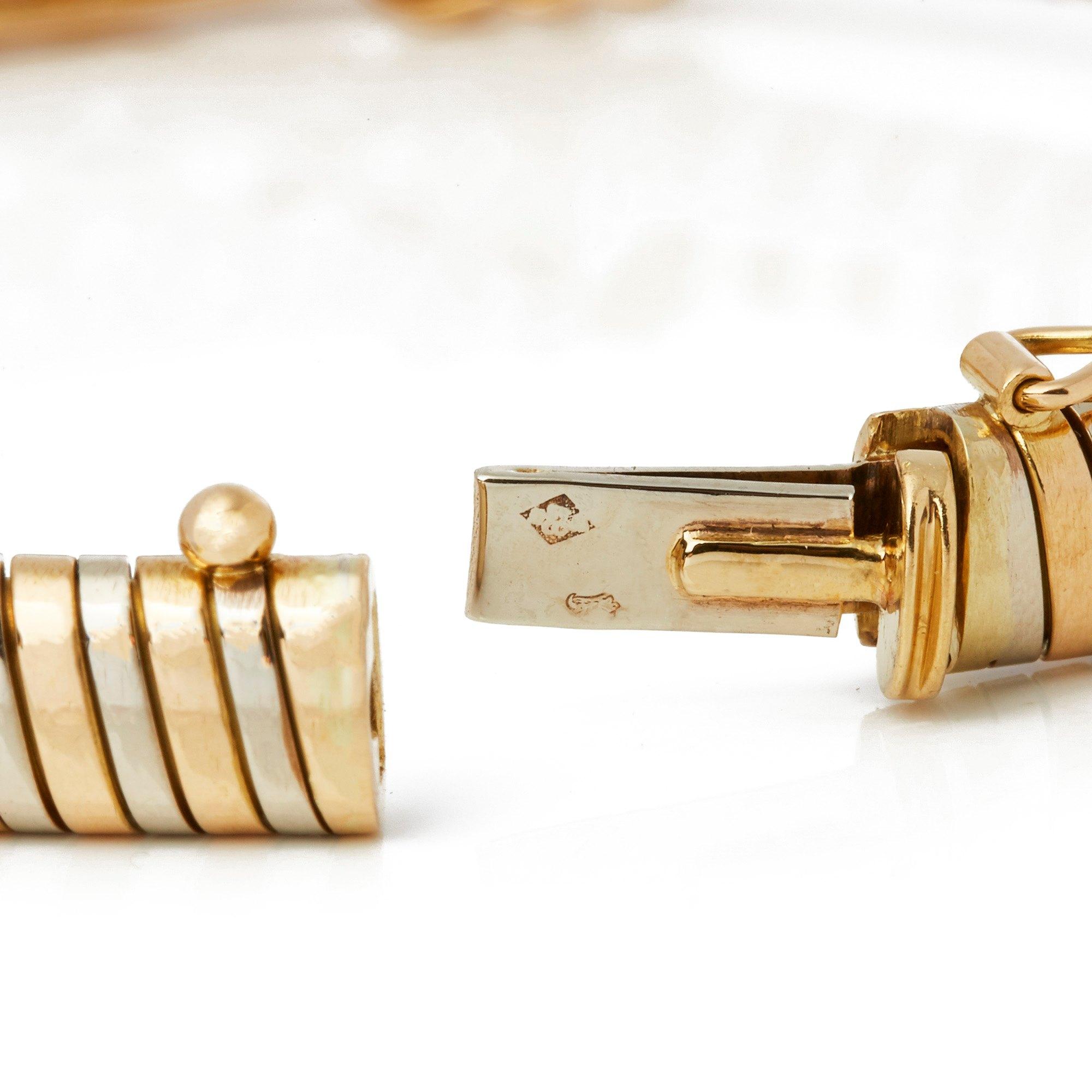 Cartier 18k Yellow Gold Turbogas Bracelet