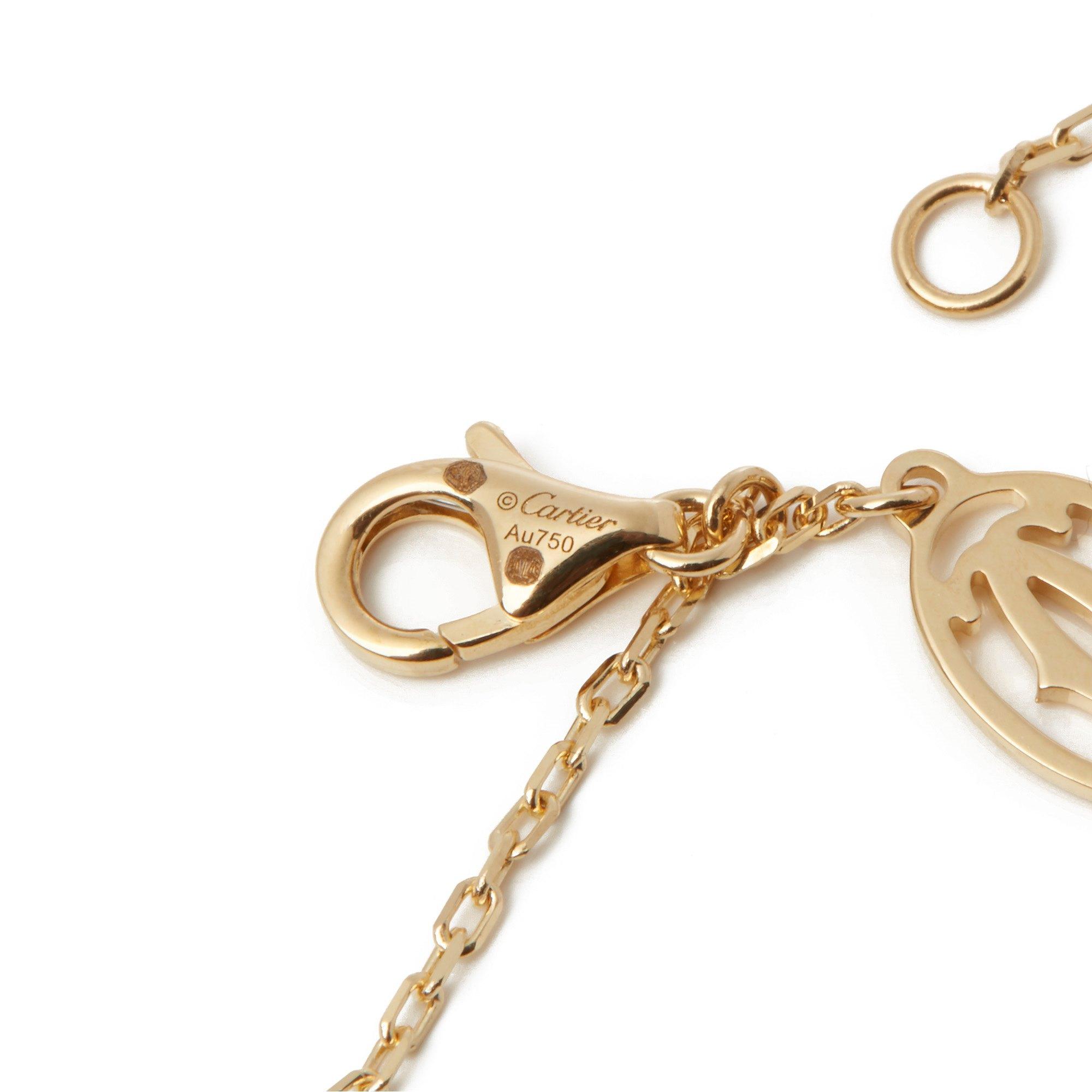 Cartier 18k Yellow Gold Elephant Pendant