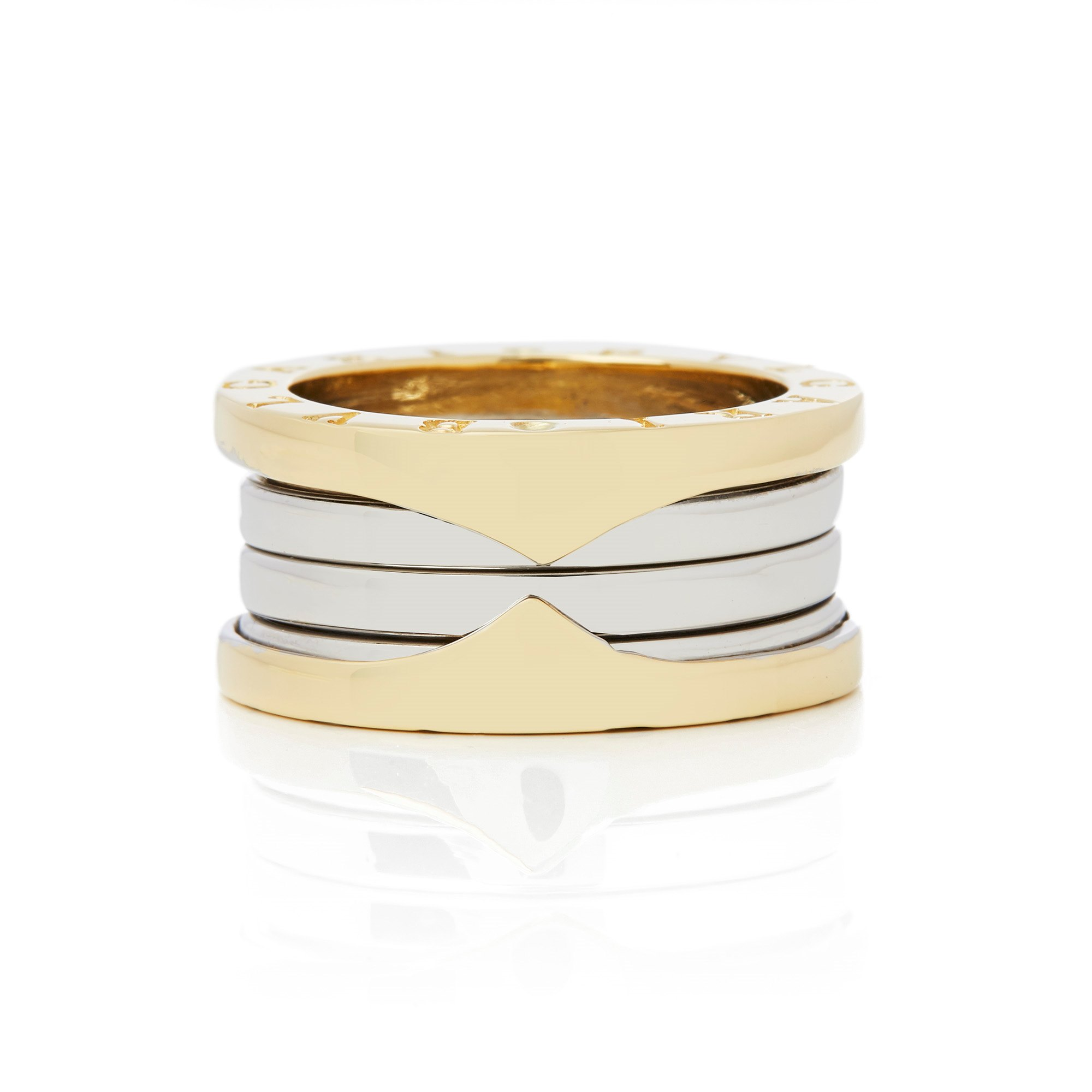 Bulgari 18k Bi Colour B Zero 1 Ring