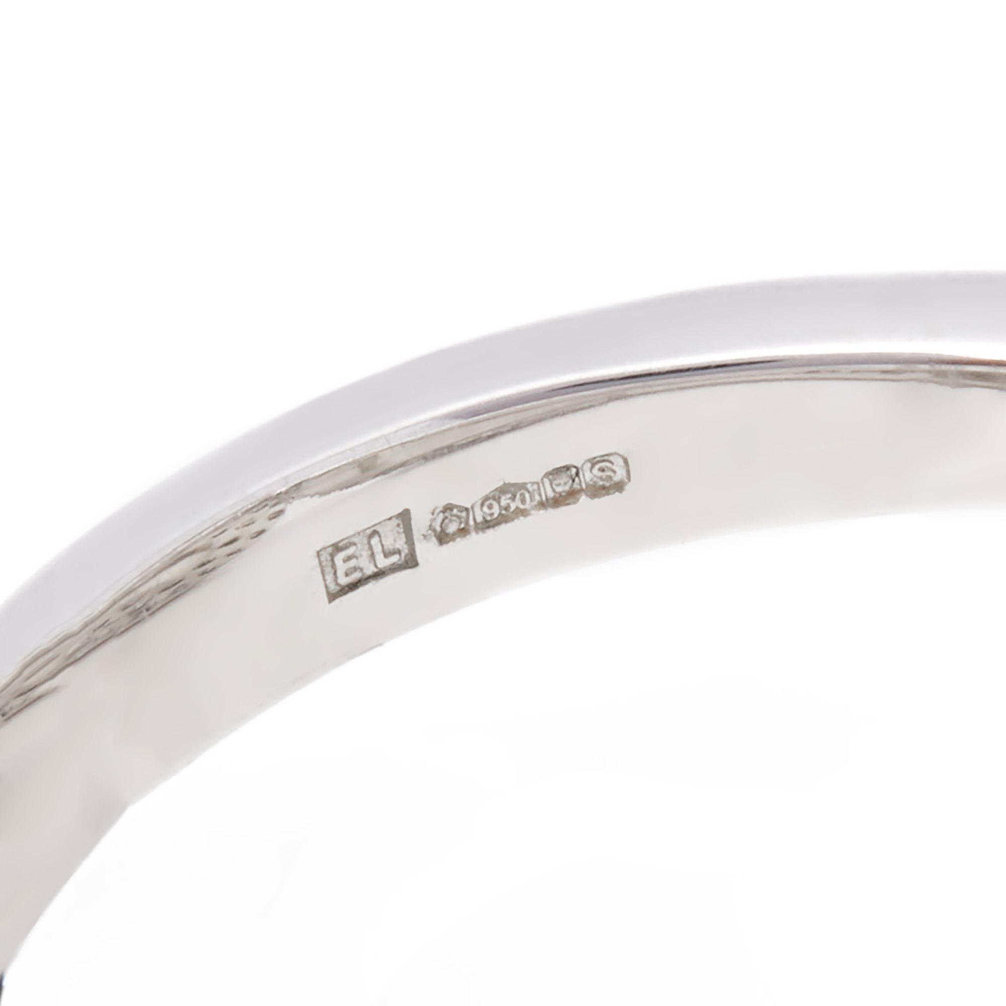 Diamond Platinum Round Brilliant Cut Diamond Petal Style Cocktail Ring 1.76cts