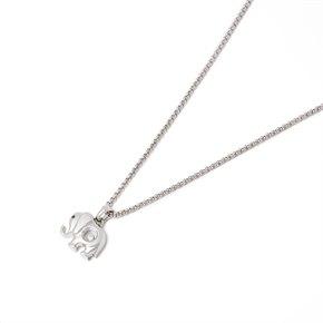 Chopard 18k White Gold Happy Diamonds Elephant Pendant