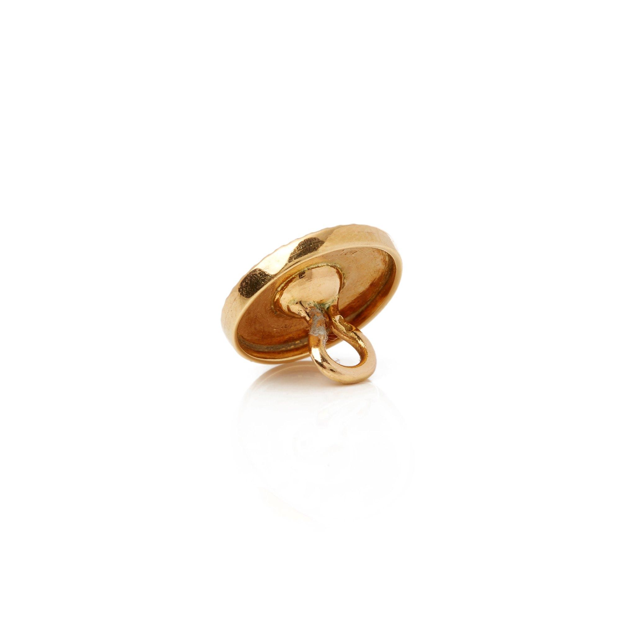 Cartier 18k Yellow Gold Cufflink and Dress Stud Suite