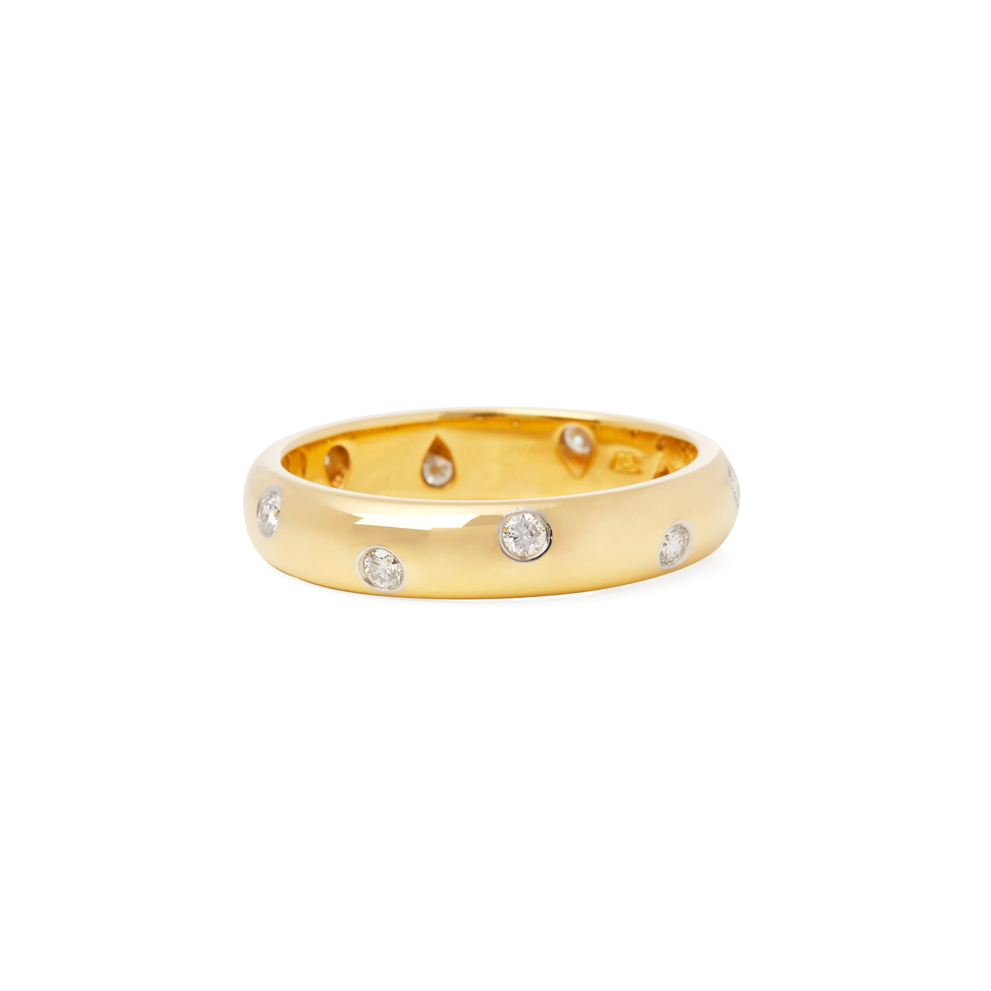 Tiffany & Co. 18k Yellow Gold Etoile Ring