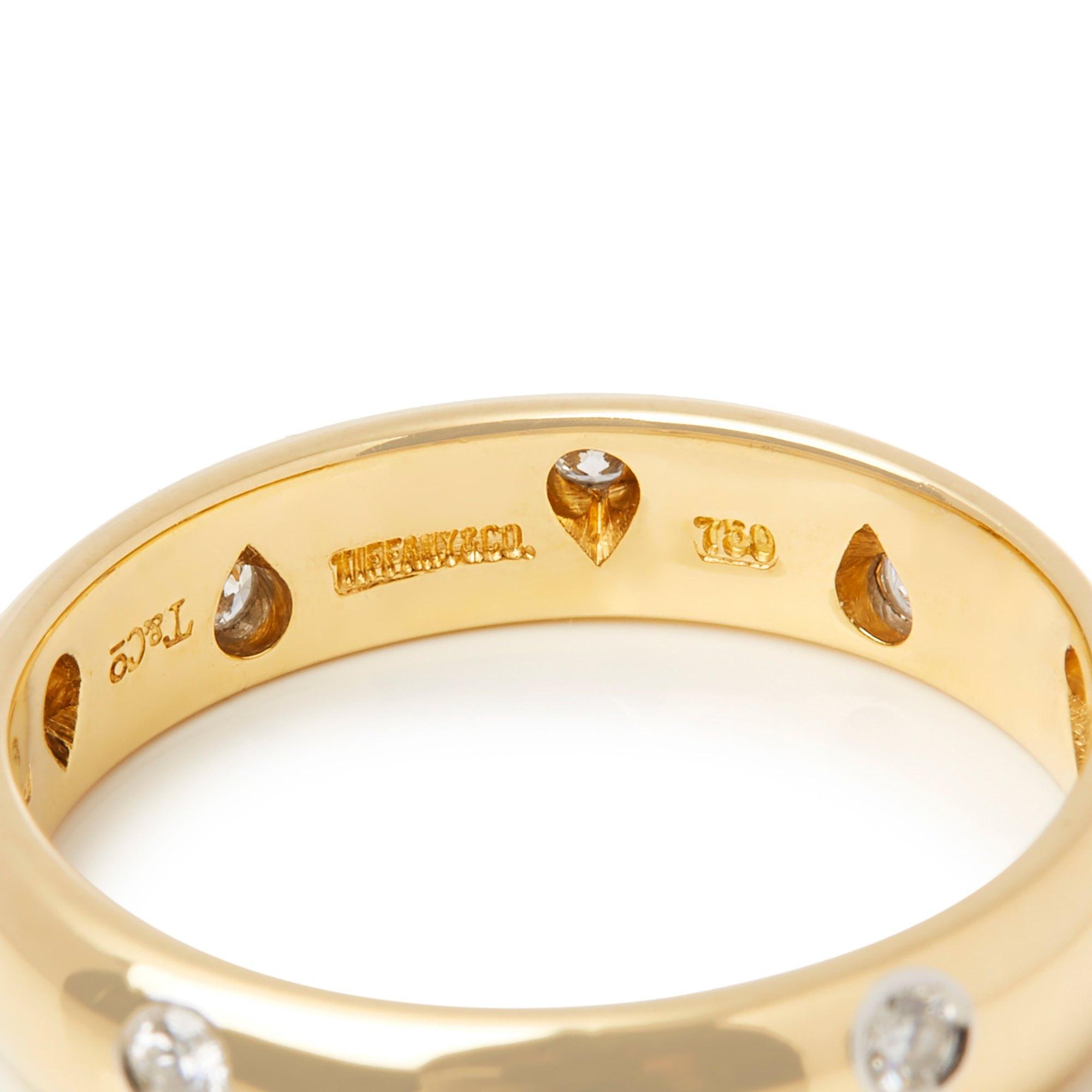Tiffany & Co. 18k Yellow Gold Etoile Ring