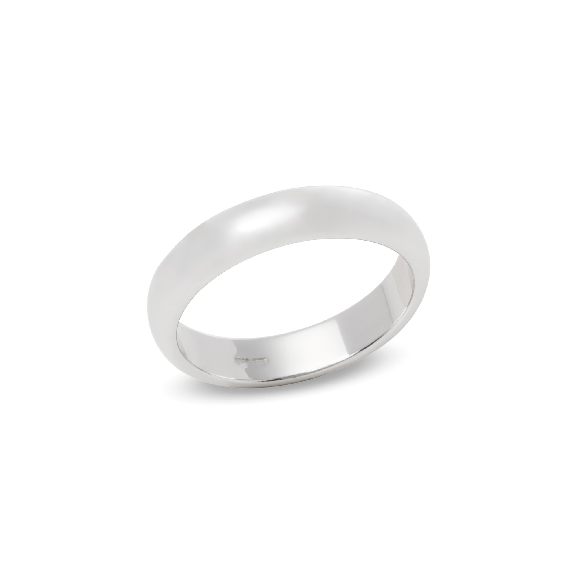 Tiffany & Co. Platinum 4.5mm Court Wedding Ring
