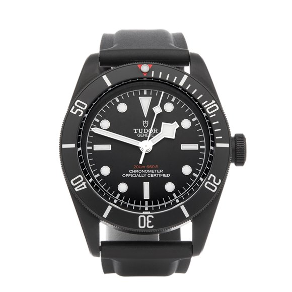 Tudor Black Bay Heritage Dlc Coated Stainless Steel - 79230DK