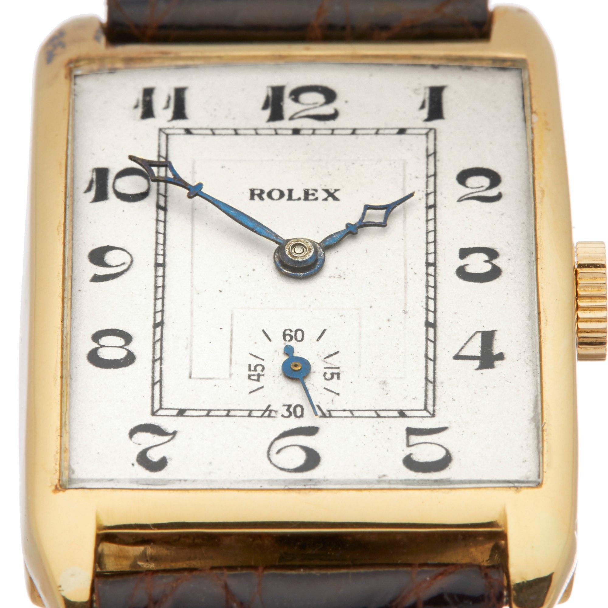 Rolex Vintage 18K Yellow Gold Prince