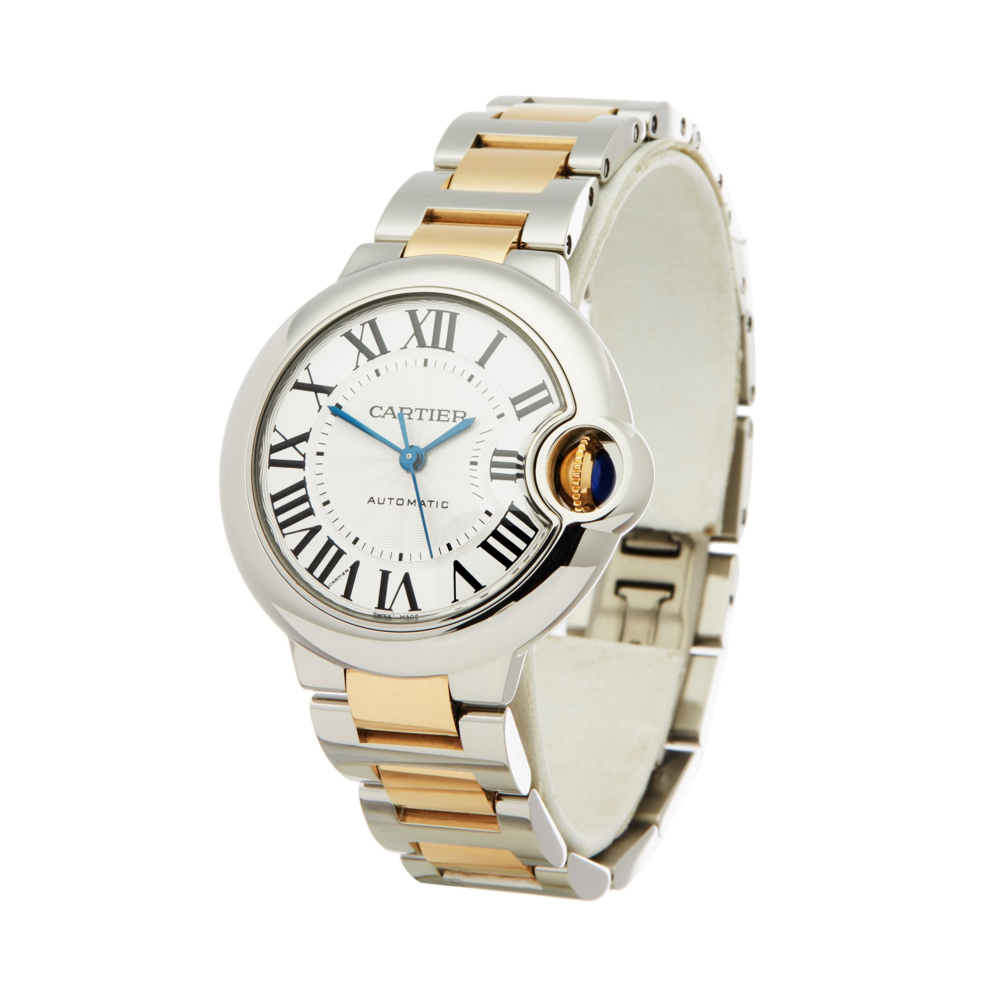 Cartier Ballon Bleu Stainless Steel & Yellow Gold 3489