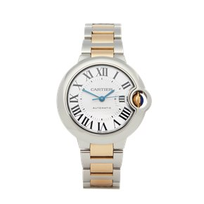 Cartier Ballon Bleu Stainless Steel & Yellow Gold - 3489