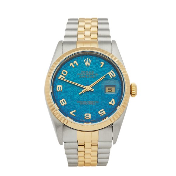 Rolex Datejust 36 Jubilee Dial Stainless Steel & Yellow Gold - 16233