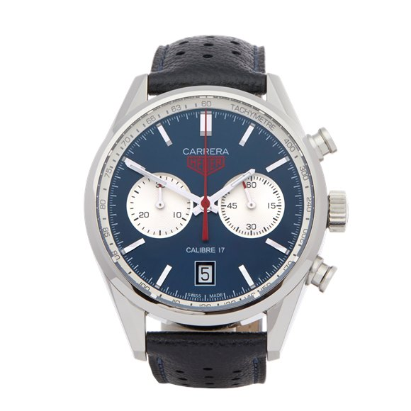 Tag Heuer Carrera Calibre 17 Chronograph Stainless Steel - CV211A.FC6335
