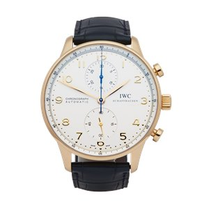 IWC Portuguese Chronograph 18K Rose Gold - IW3714
