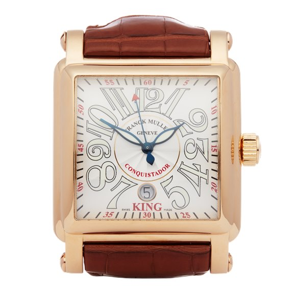 Franck Muller King Conquistador Cortez Chronograph 18K Rose Gold - 10000K