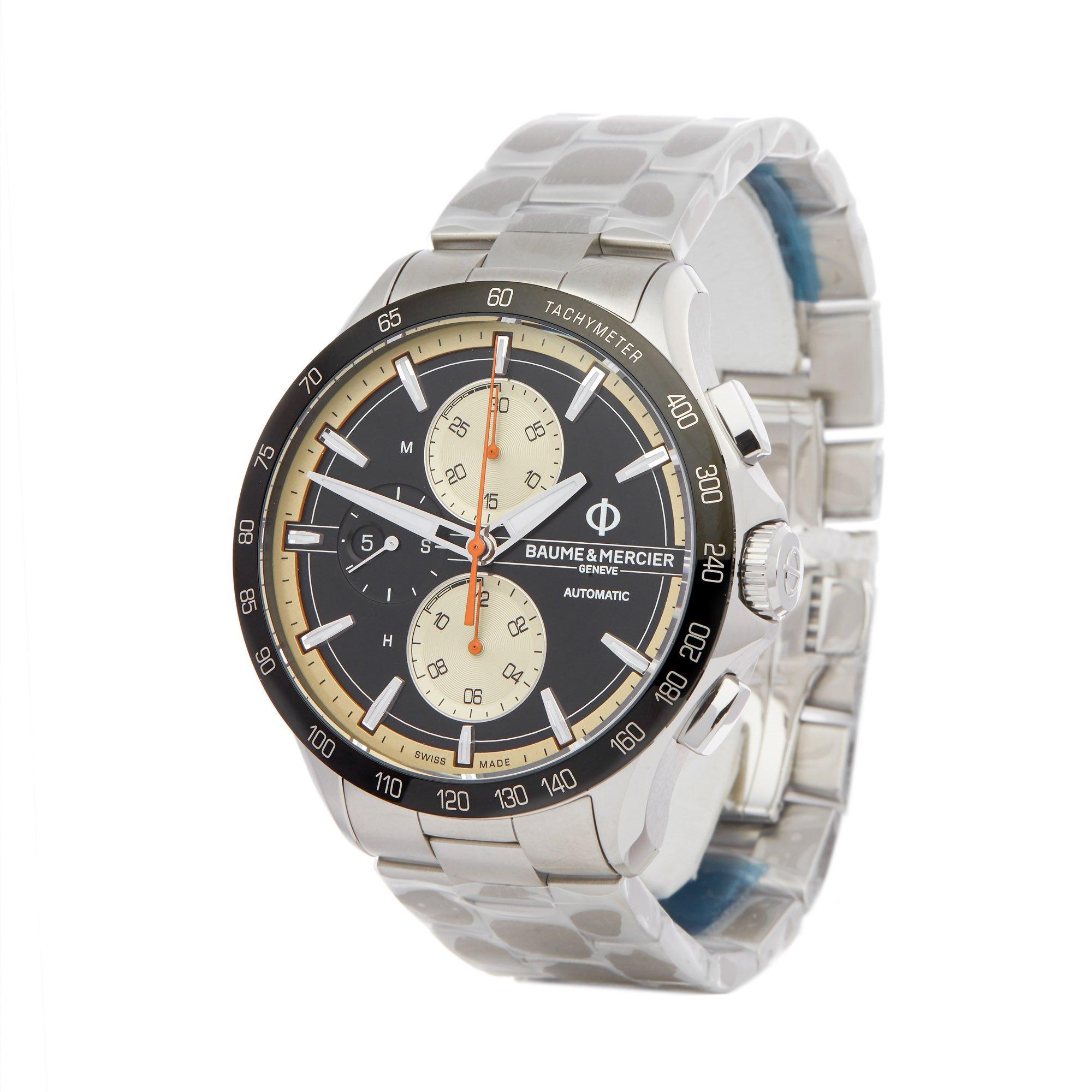 Baume & Mercier Clifton Club Chronograph Stainless Steel M0A10435