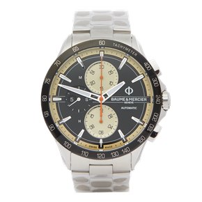 Baume & Mercier Clifton Club Chronograph Stainless Steel - M0A10435