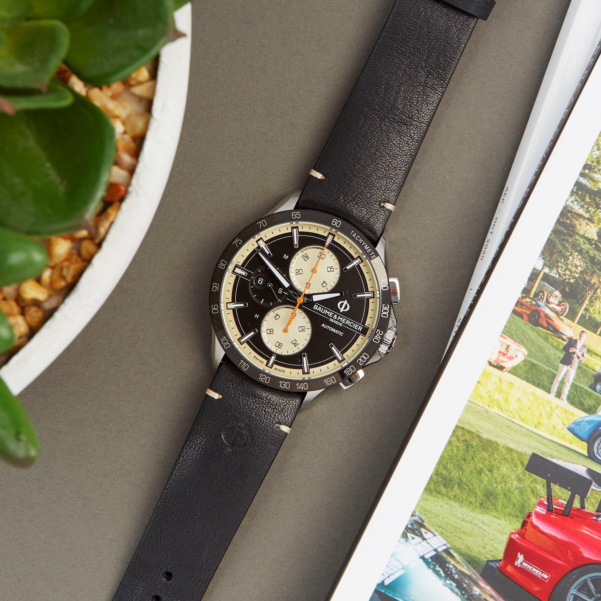 Baume & Mercier Clifton Club Chronograph Stainless Steel M0A10434