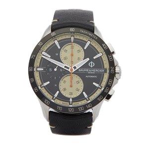 Baume & Mercier Clifton Club Chronograph Stainless Steel - M0A10434