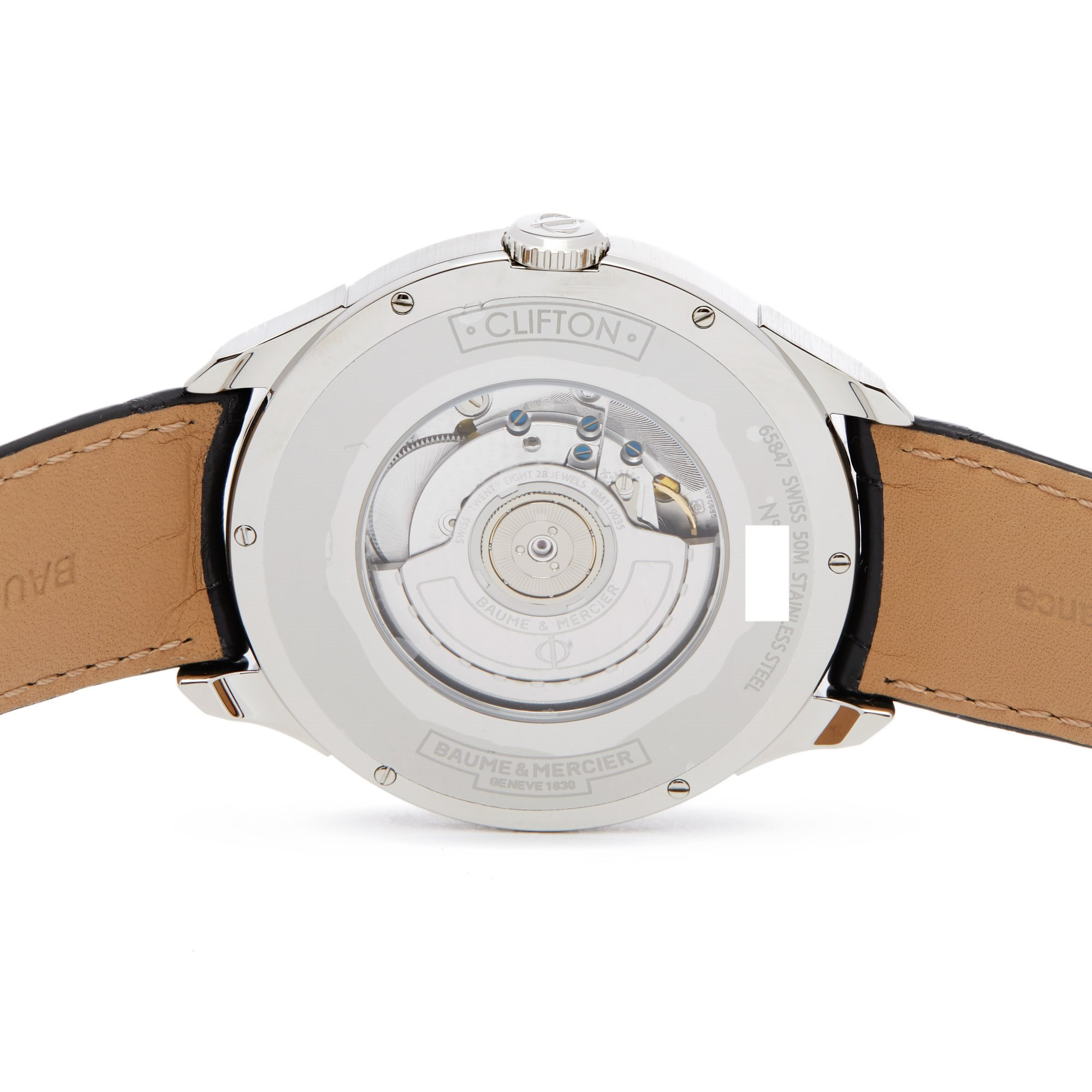 Baume & Mercier Clifton Stainless Steel M0A10422