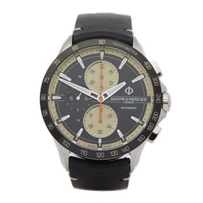 Baume & Mercier Clifton Club Chronograph Stainless Steel - M0A10434