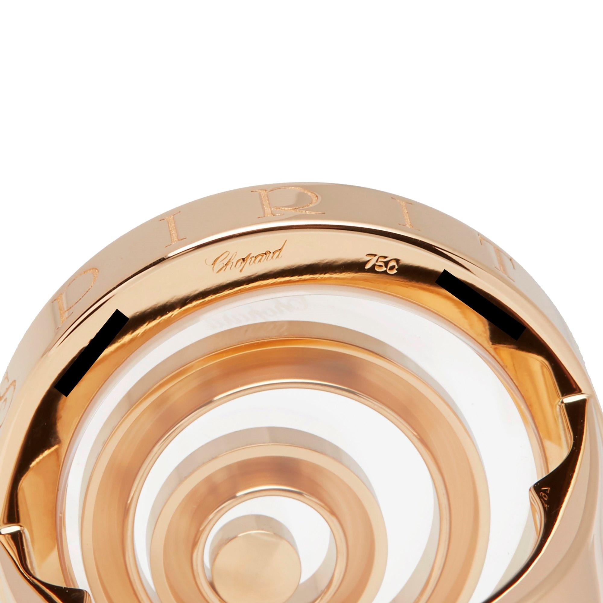 Chopard 18k Yellow Gold Happy Spirit Ring