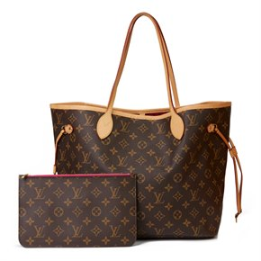 Louis Vuitton Brown Monogram Coated Canvas Pivoine Neverfull MM with Pouch