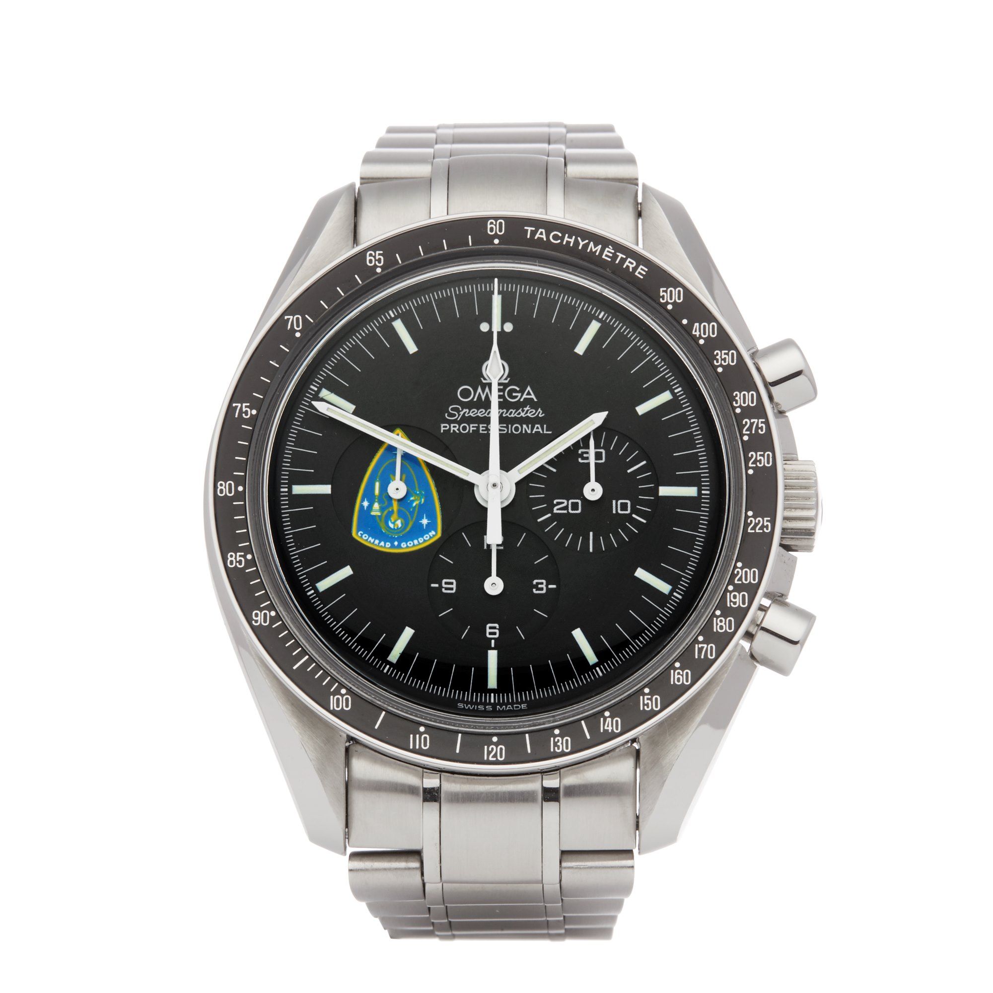 Omega Speedmaster Missions Conrad Gordon Chronograph Roestvrij Staal 145.0022 3450022