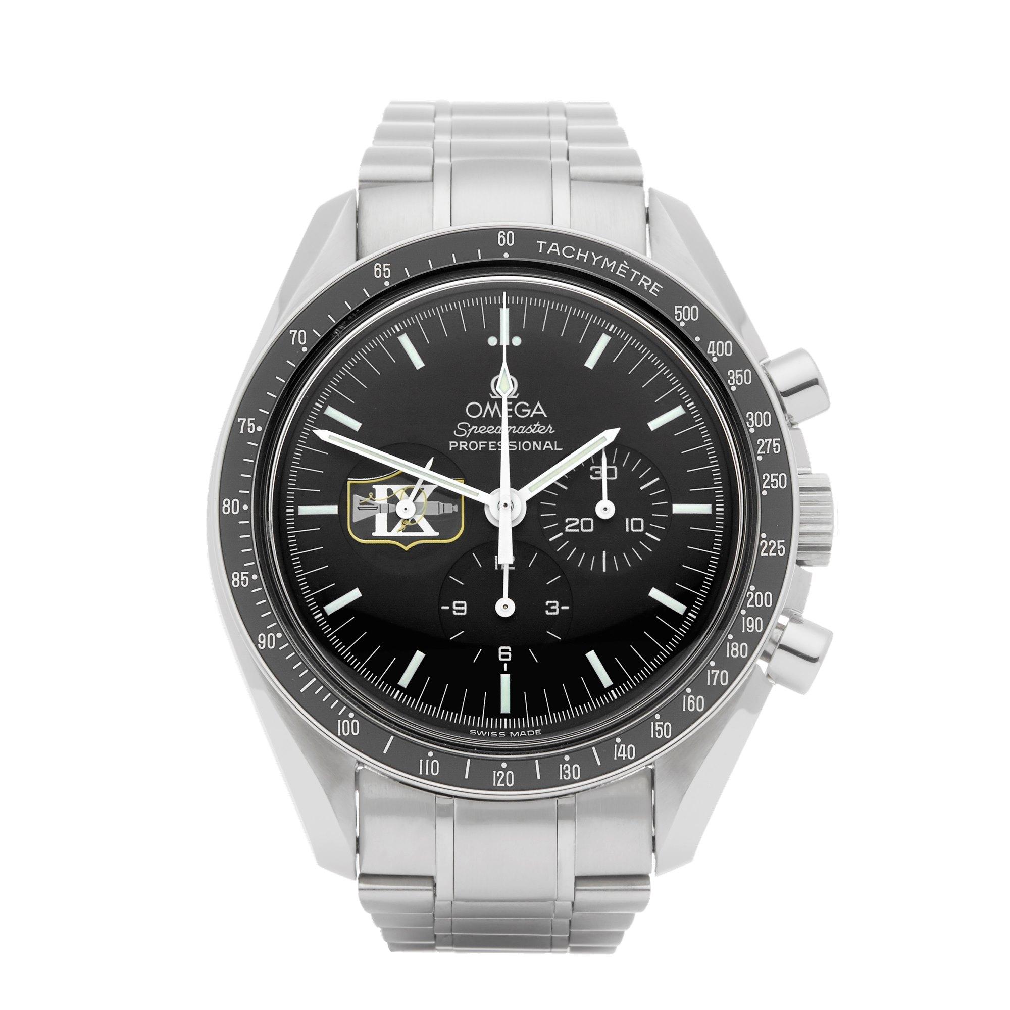 Omega Speedmaster Missions Gemini IX Chronograph Stainless Steel 38725001 145.0022