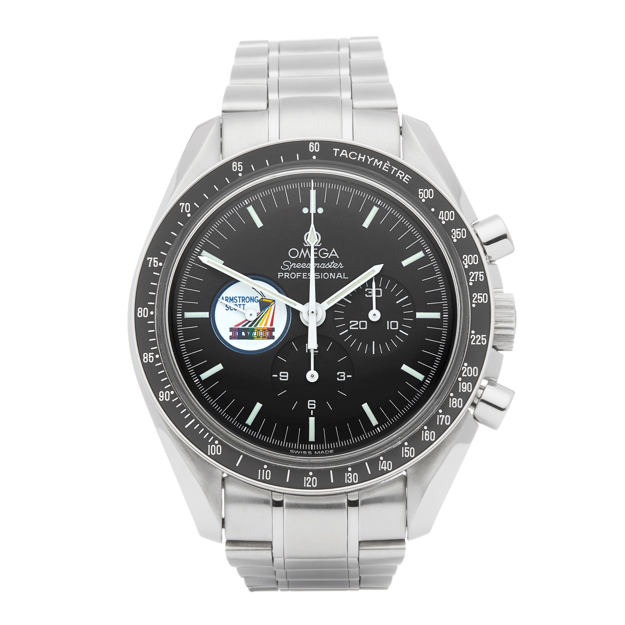 Omega Speedmaster Missions Scott Armstrong IIVIII Chronograph Stainless Steel 145.0022 35970600