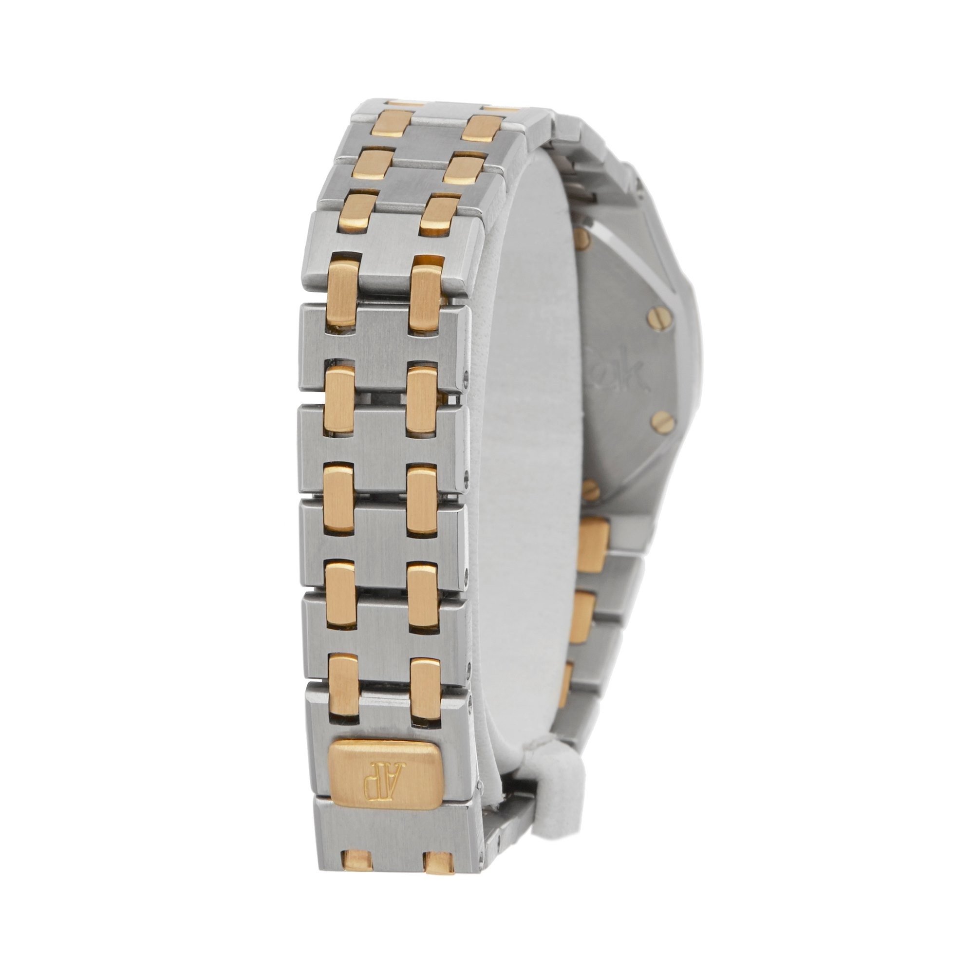 Audemars Piguet Royal Oak Diamond Stainless Steel & Yellow Gold 67075SA