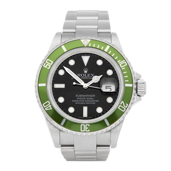 Rolex Submariner Date Kermit NOS Stainless Steel - 16610LV
