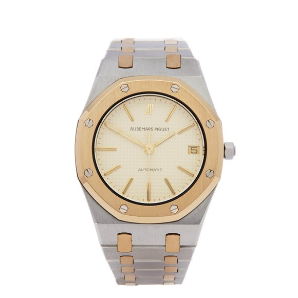 Audemars Piguet Royal Oak 18K Yellow Gold & Stainless Steel - 4100