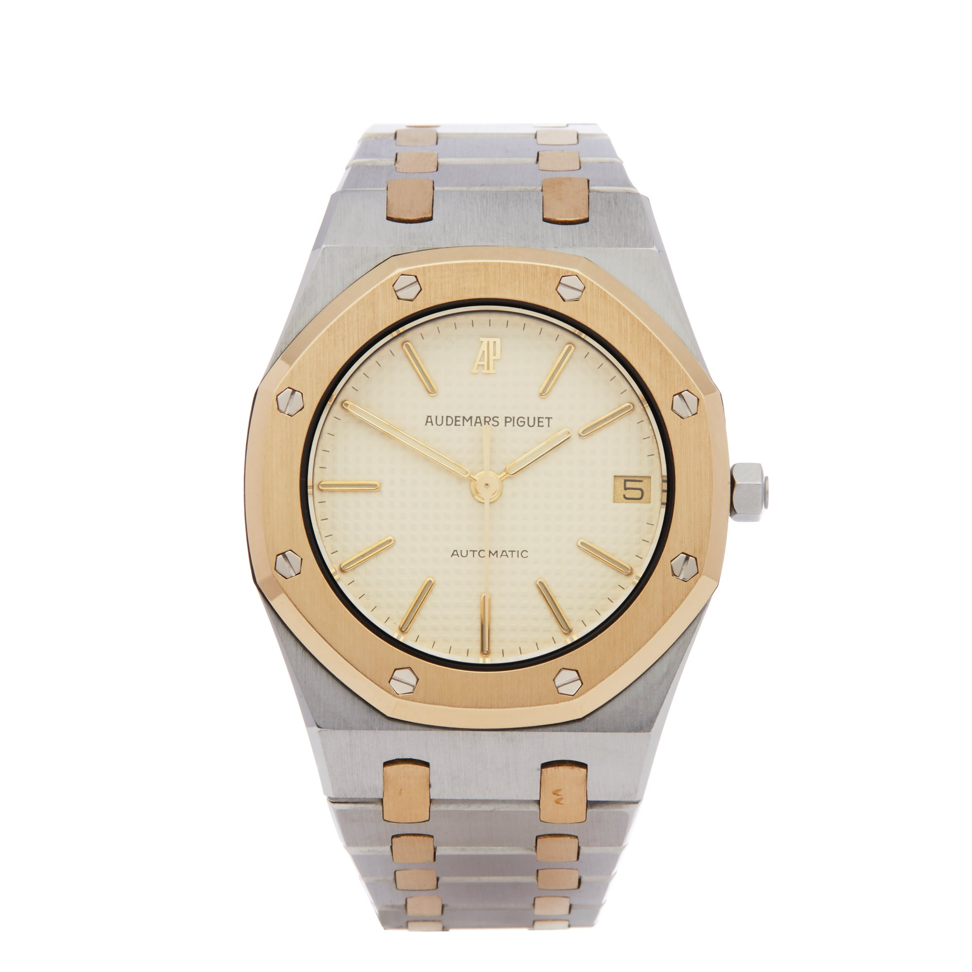 Audemars Piguet Royal Oak Stainless Steel & Yellow Gold 4100