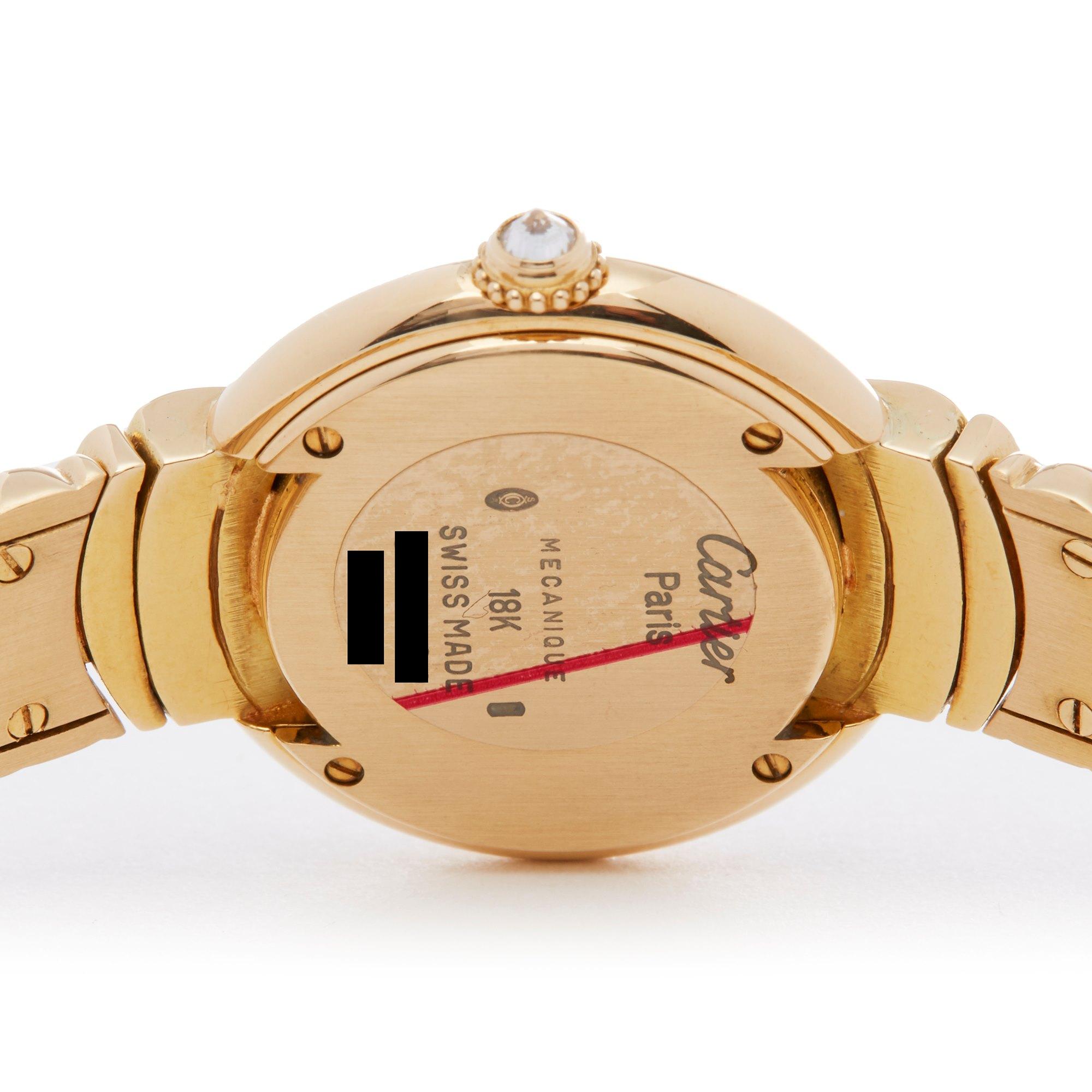 Cartier Vendome Paris Mecanique Diamond 18K Yellow Gold - 878999 Yellow Gold 878999