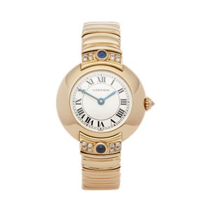 Cartier Vendome Paris Mecanique Diamond 18K Yellow Gold - 878999