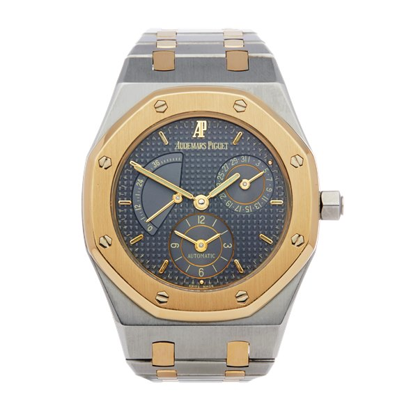 Audemars Piguet Royal Oak Dual Time Stainless Steel & Yellow Gold - 25730SA