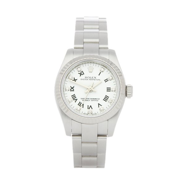 Rolex Oyster Perpetual 26 Diamond Stainless Steel - 176234